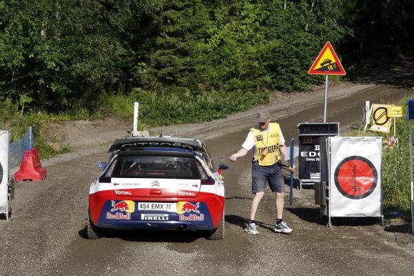 Round 09Rally Finland 39Juli-3 August  2009Dani Sordo, Citroen WRC, ActionWorldwide Copyright: McKlein/LAT