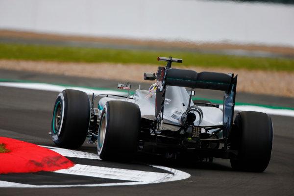Silverstone, Northamptonshire, UK Friday 08 July 2016. Lewis Hamilton, Mercedes F1 W07 Hybrid.  World Copyright: Andy Hone/LAT Photographic ref: Digital Image _ONZ8919