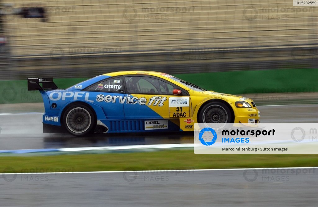 Johnny Cecotto (COL), 2002 champion of the V8STAR championship, will drive one race for the Opel Euroteam.DTM Championship, Rd10, Hockenheim, Germany. 06 October 2002.DIGITAL IMAGE