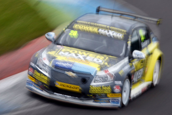 2014 British Touring Car Championship, Knockhill, Scotland. 23rd-24th August 2014, Chris Stockton (GBR) Power Maxed Racing Chevrolet Cruze 5dr World copyright. Ebrey/LAT Photographic