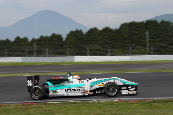 Fuji Speedway, Japan 13th - 14th July 2013.Rd 9 Winner  Yuichi Nakayama ( #36 PETRONAS TEAM TOM'S ) action World Copyright: Yasushi Ishihara/LAT Photographic Ref: Digital Image 2013JF3_Rd8&9_018