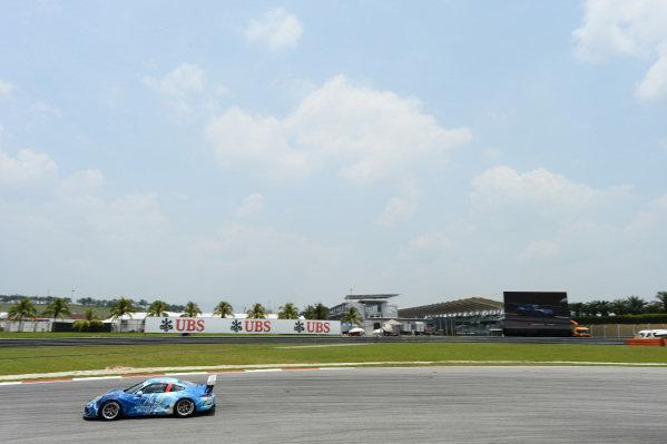 Li Chao (CHN) Team Betterlife. Porsche Carrera Cup Asia, Sepang, Malaysia, 28-30 March 2014.