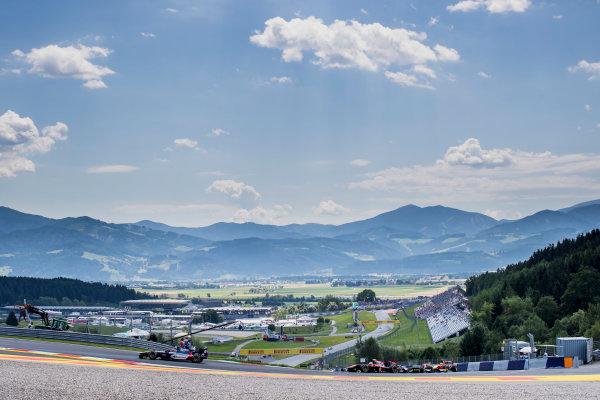 2017 FIA Formula 2 Round 5. Red Bull Ring, Spielberg, Austria. Friday 7 July 2017. Artem Markelov (RUS, RUSSIAN TIME).  Photo: Zak Mauger/FIA Formula 2. ref: Digital Image _56I0501