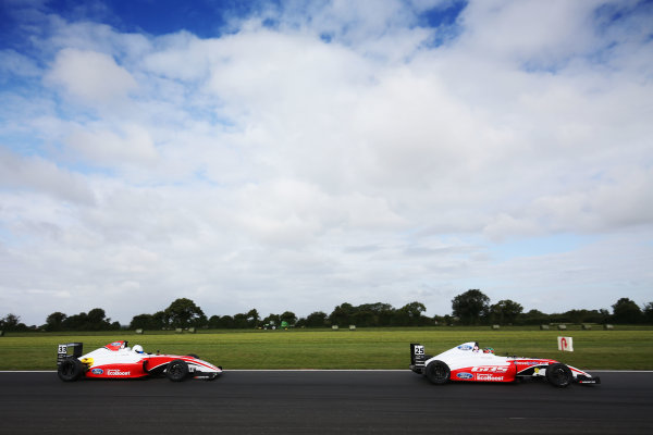 2017 British F4 Championship,  Snetterton. 29th-30th July 2017, Johnathan Hoggard (GBR) Fortec Motorsports British F4 World copyright. JEP/LAT Photographic