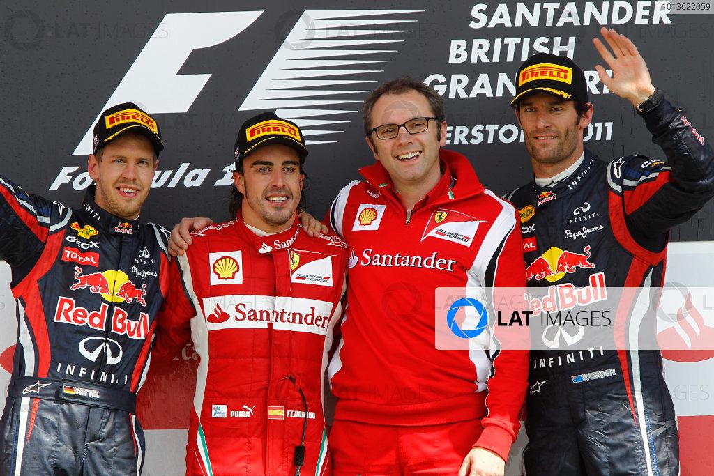 2011 British Grand Prix - Sunday