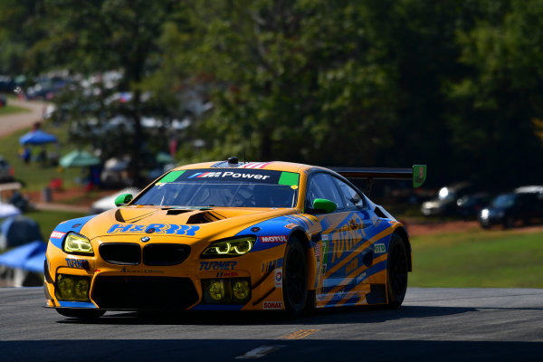 28 September -1 October 2016,  Braselton, Georgia USA 97, BMW, M6 GT3, GTD, Michael Marsal, Markus Palttala ©2016, Richard Dole LAT Photo USA