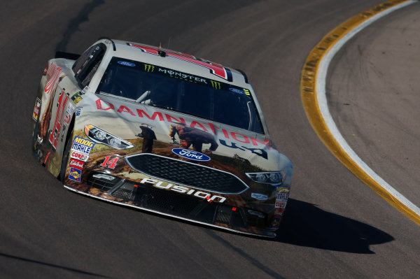 Monster Energy NASCAR Cup Series Can-Am 500 Phoenix Raceway, Avondale, AZ USA Sunday 12 November 2017 Clint Bowyer, Stewart-Haas Racing, USA Network Damnation Ford Fusion World Copyright: Matthew T. Thacker LAT Images