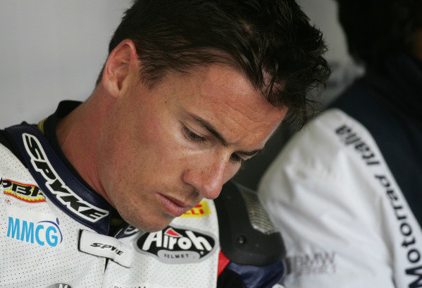 Silverstone, England. 29th-31st July 2011. James Toseland, BMW. Portrait. World Copyright: Kevin Wood/LAT Photographic. ref: Digital Image MF6E0545a
