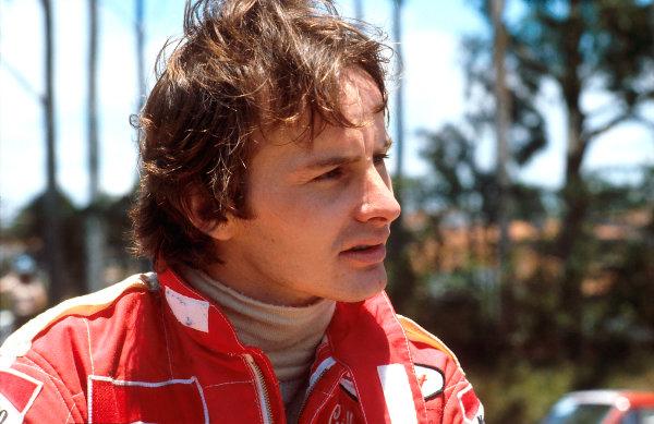 1979 Brazilian Grand Prix.Interlagos, Sao Paulo, Brazil.2-4 February 1979.Gilles Villeneuve (Ferrari) 5th position.World Copyright - LAT Photographic