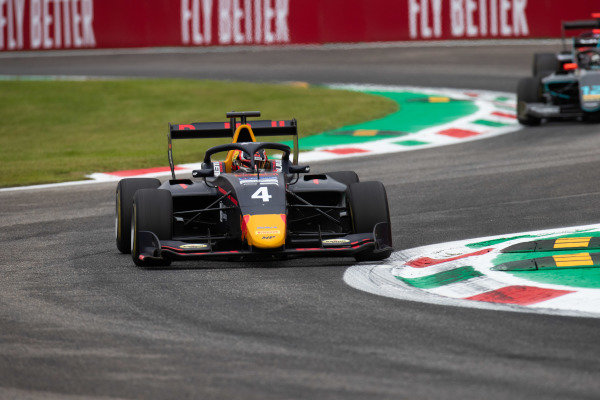 AUTODROMO NAZIONALE MONZA, ITALY - SEPTEMBER 06: Liam Lawson (NZL, MP Motorsport) during the Monza at Autodromo Nazionale Monza on September 06, 2019 in Autodromo Nazionale Monza, Italy. (Photo by Joe Portlock / LAT Images / FIA F3 Championship)