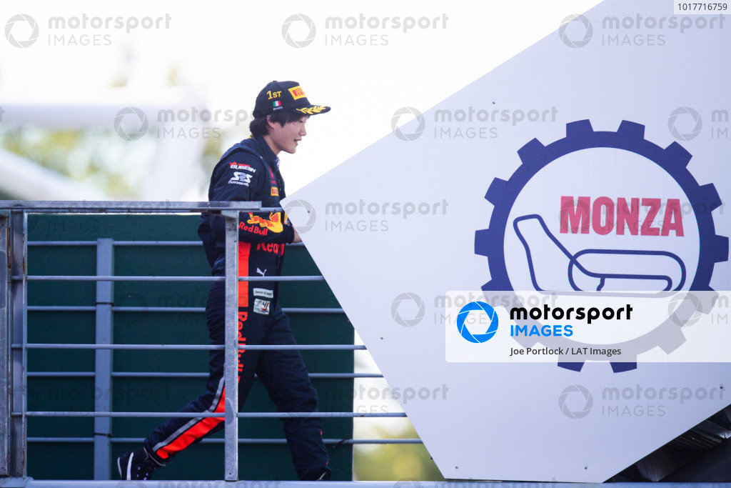 AUTODROMO NAZIONALE MONZA, ITALY - SEPTEMBER 08: Yuki Tsunoda (JPN, Jenzer Motorsport) during the Monza at Autodromo Nazionale Monza on September 08, 2019 in Autodromo Nazionale Monza, Italy. (Photo by Joe Portlock / LAT Images / FIA F3 Championship)
