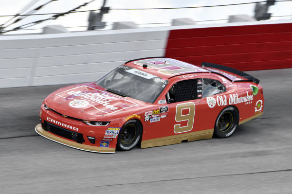 #9: Tyler Reddick, JR Motorsports, Chevrolet Camaro Old Milwaukee Beer