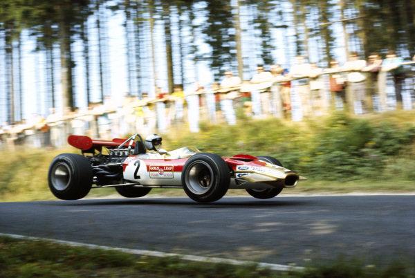 Jochen Rindt, Lotus 49B Ford.