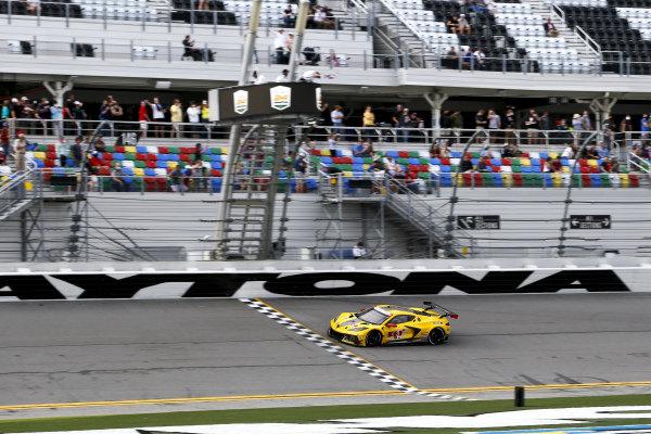 #3 Corvette Racing Corvette C8.R, GTLM: Nicky Catsburg, Jordan Taylor, Antonio Garcia winner