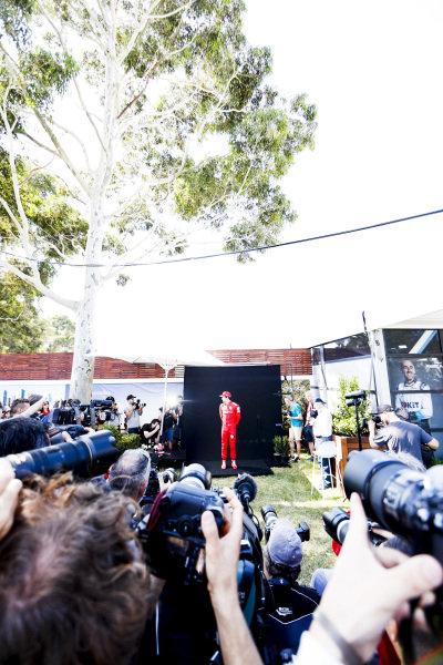 Charles Leclerc, Ferrari during the Official Portrait