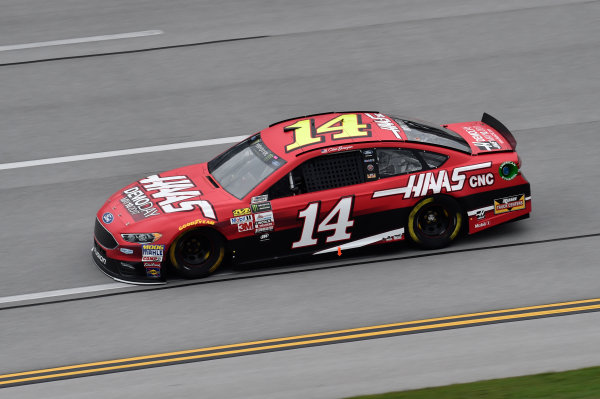 Monster Energy NASCAR Cup Series GEICO 500 Talladega Superspeedway, Talladega, AL USA Friday 5 May 2017 Clint Bowyer, Stewart-Haas Racing, Haas Automation Demo Days Ford Fusion World Copyright: John K Harrelson LAT Images