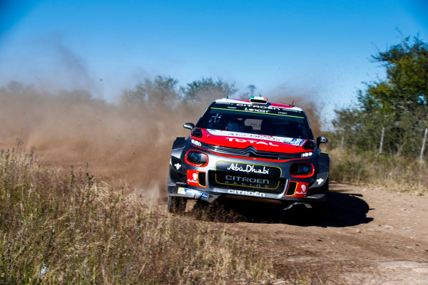 2017 FIA World Rally Championship, Round 05, Rally Argentina, April 27-30, 2017, Craig Breen, Citroen, Action, Worldwide Copyright: McKlein/LAT