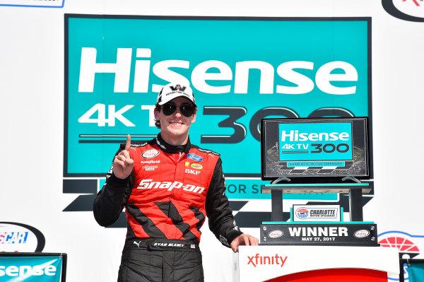 NASCAR Xfinity Series Hisense 4K TV 300 Charlotte Motor Speedway, Concord, NC USA Saturday 27 May 2017 Ryan Blaney, Snap-On Ford Mustang World Copyright: Rusty Jarrett LAT Images ref: Digital Image 17CLT2rj_9607