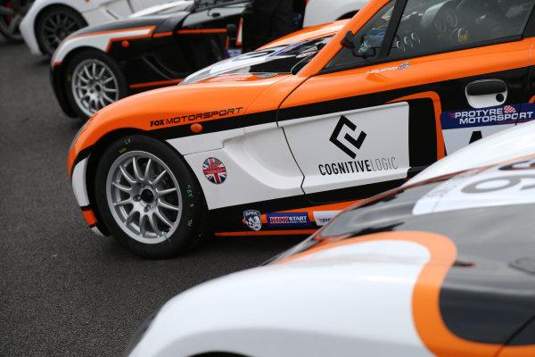 2017 Ginetta GT5 Championship Thruxton, 6th-7th May 2017,  Nick Halstead Brundall Motorsport Ginetta G40 World copyright. JEP/LAT Images