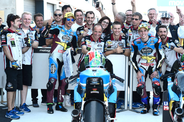 2017 Moto2 Championship - Round 14 Aragon, Spain. Saturday 23 September 2017 Alex Marquez, Marc VDS World Copyright: Gold and Goose / LAT Images ref: Digital Image 13874