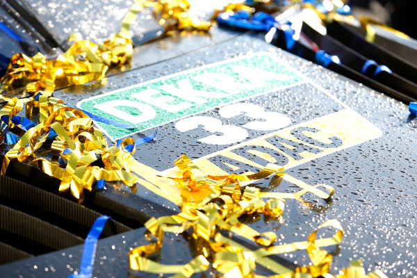 2017 DTM Round 9  Hockenheimring, Germany  Sunday 15 October 2017. Winning number of René Rast, Audi Sport Team Rosberg, Audi RS 5 DTM  World Copyright: Alexander Trienitz/LAT Images ref: Digital Image 2017-DTM-HH2-AT2-2299