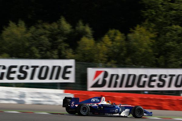 Spa-Francorchamps, Spa, Belgium. 30th August 2009.Sunday Race.Roldan Rodriguez (ESP, Piquet GP). Action.  World Copyright: Glenn Dunbar / GP2 Series Media Service.Ref: _3GD9255 jpg