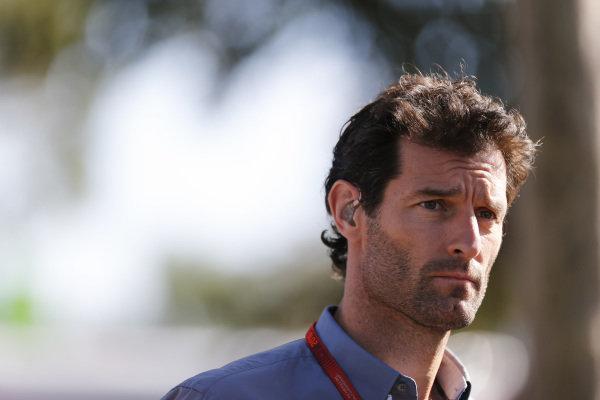 Mark Webber (AUS) Porsche WEC Team at Formula One World Championship, Rd1, Australian Grand Prix, Race, Albert Park, Melbourne, Australia, Sunday 20 March 2016.