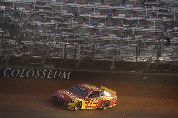 #12: Ryan Blaney, Team Penske, Ford Mustang Advance My Track Challenge