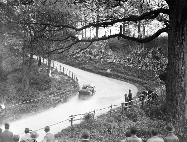 HJR Anderson, Bentley 3 Litre.