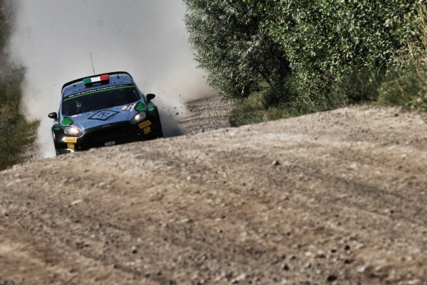 Lorenzo Bertelli (ITA) / Simone Scattolin (ITA), FWRT SRL Ford Fiesta RS WRC at FIA World Rally Championship, Rd7, Rally Poland, Preparations and Shakedown, Mikolajki, Poland, 30 June 2016.