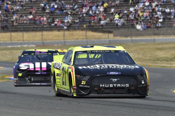 #21: Paul Menard, Wood Brothers Racing, Ford Mustang Menards / Richmond