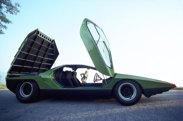 Concept Car, Bertone Carabo, based on Alfa Romeo 33 Stradale, 1968