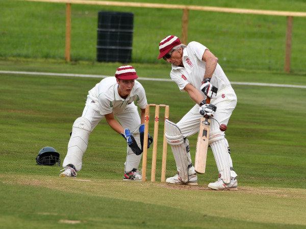 Goodwood Revival Cricket Match Derek Bell