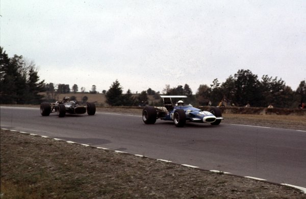 1968 United States Grand Prix.Watkins Glen, New York, USA.4-6 October 1968.Jean-Pierre Beltoise (Matra MS11).Ref-68 USA 57.World Copyright - LAT Photographic