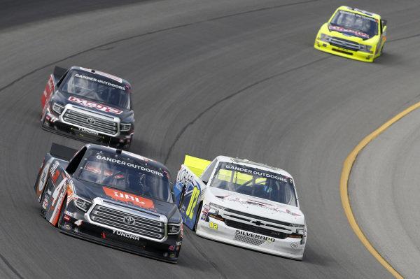 #4: Todd Gilliland, Kyle Busch Motorsports, Toyota Tundra JBL #02: Tyler Dippel, Young's Motorsports, Chevrolet Silverado