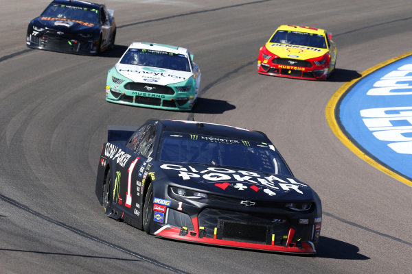 #1: Kurt Busch, Chip Ganassi Racing, Chevrolet Camaro Global Poker