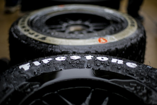 Firestone tires, rain