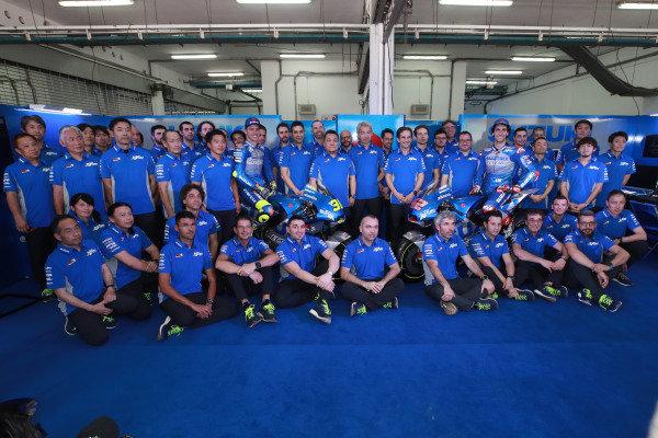 Joan Mir, Team Suzuki MotoGP, Alex Rins, Team Suzuki MotoGP, Suzuki team launch.