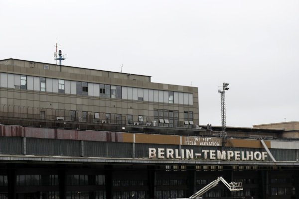 A view of one of the Berlin-Tempelhof buildings