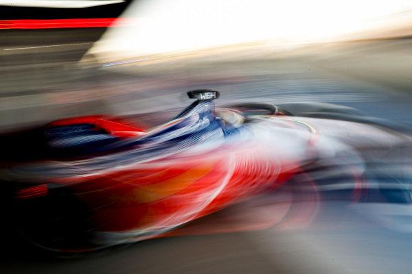 Pascal Wehrlein (DEU), Mahindra Racing, M5 Electro, leaves his garage
