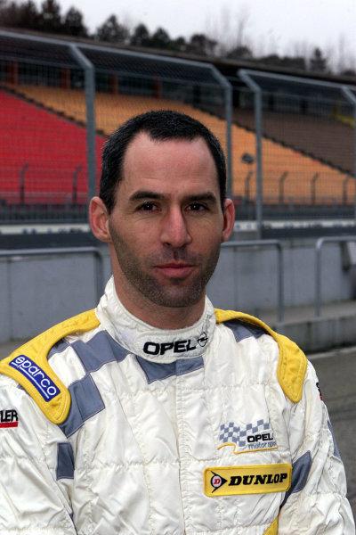 2001 DTM TestingHockenheim, Germany. 20th March 2001.Alain Menu , Opel.World Copyright: LAT Photographicref: 5 mb Digital Image