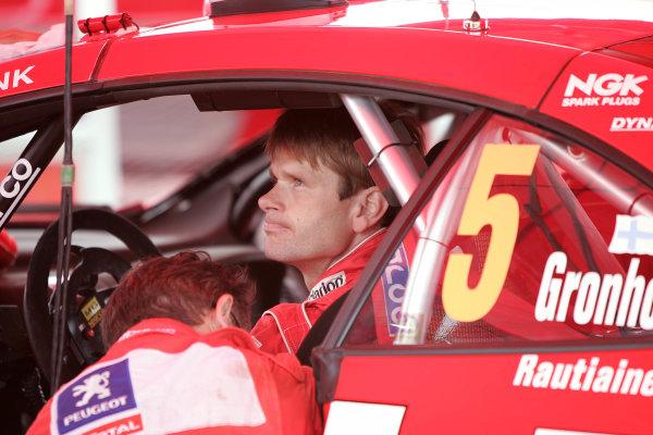 2004 FIA World Rally Champs. Round ten, OMV Deutschland Rally.19th - 22nd August 2004.Marcus Gronholm, Peugeot, portrait.World Copyright: McKlein/LAT