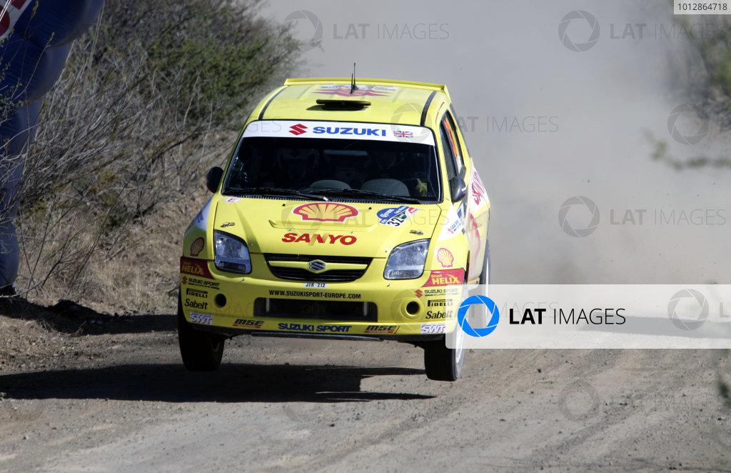 2005 FIA World Rally Champs. Round threeRally Mexico.10th - 13th March 2005.Guy Wilks, Suzuki,action.World Copyright: McKlein/LAT