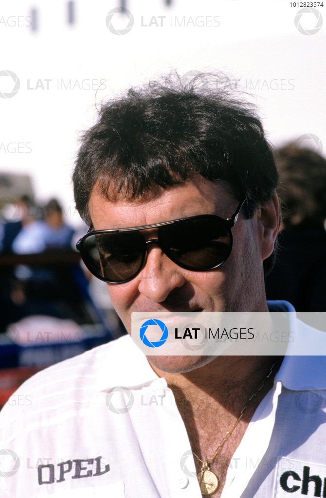 1985 World Rally Championship.Tour de Corse, Corsica, France.Guy Frequelin (Opel Manta 400). Portrait.World Copyright: LAT Photographic.ref: 35mm Transparency, 60mb Scan.