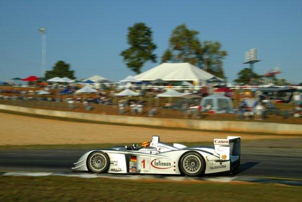 2003 ALMS Petit LeMansBiela in the 3rd place Audi.September 15 - 18, 2003, Winder, GA, USA,Copyright: Richard Dole/LAT Photographic