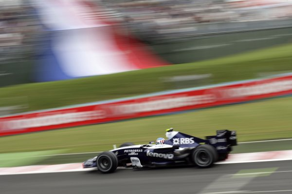 2007 French Grand Prix - Friday PracticeCircuit de Nevers Magny Cours, Nevers, France.29th June 2007.Alex Wurz, Williams FW29 Toyota. Action. World Copyright: Steven Tee/LAT Photographicref: Digital Image YY2Z4310