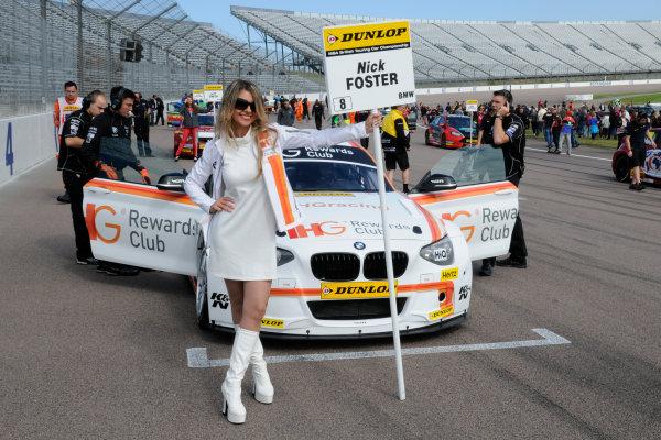 2015 British Touring Car Championship, Rockingham, Corby, England. 5th-6th September 2015, Nick Foster (GBR) WSR BMW 120 World Copyright. Jakob Ebrey/LAT Photographic