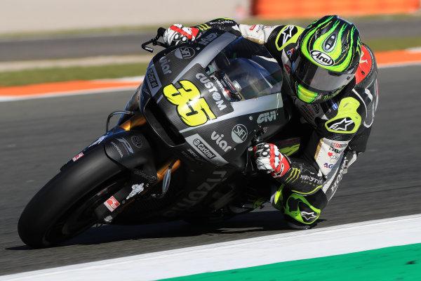 2017 MotoGP Championship - Valencia test, Spain. Tuesday 14 November 2017 Cal Crutchlow, Team LCR Honda World Copyright: Gold and Goose / LAT Images ref: Digital Image 706842