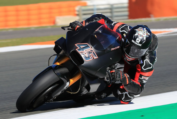 2017 MotoGP Championship - Valencia test, Spain. Tuesday 14 November 2017 Scott Redding, Aprilia Racing Team Gresini World Copyright: Gold and Goose / LAT Images ref: Digital Image 706828