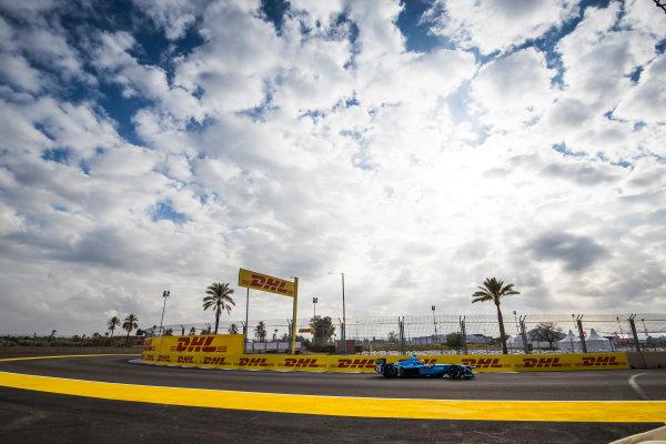 2017/2018 FIA Formula E Championship.Test 02 - Marrakesh Rookie Test.Circuit International Automobile Moulay El Hassan, Marrakesh, Morocco.Sunday 14 January 2018.Mitsunori Takaboshi (JPN), Renault e.Dams, Renault Z.E 17. Photo: Sam Bloxham/LAT/Formula Eref: Digital Image _J6I2238
